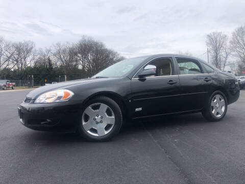 2008 Chevrolet Impala for sale at Beckham's Used Cars in Milledgeville GA
