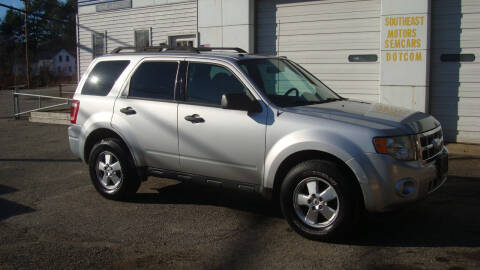 2011 Ford Escape for sale at Southeast Motors INC in Middleboro MA