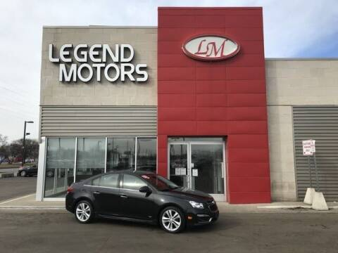 2015 Chevrolet Cruze for sale at Legend Motors of Waterford - Legend Motors of Ferndale in Ferndale MI