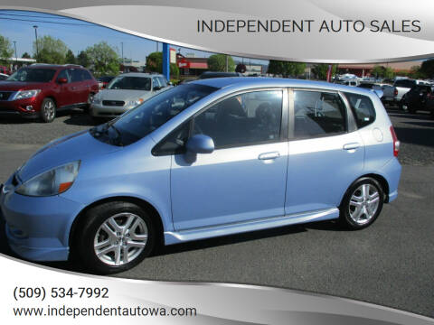 2008 Honda Fit for sale at Independent Auto Sales #2 in Spokane WA