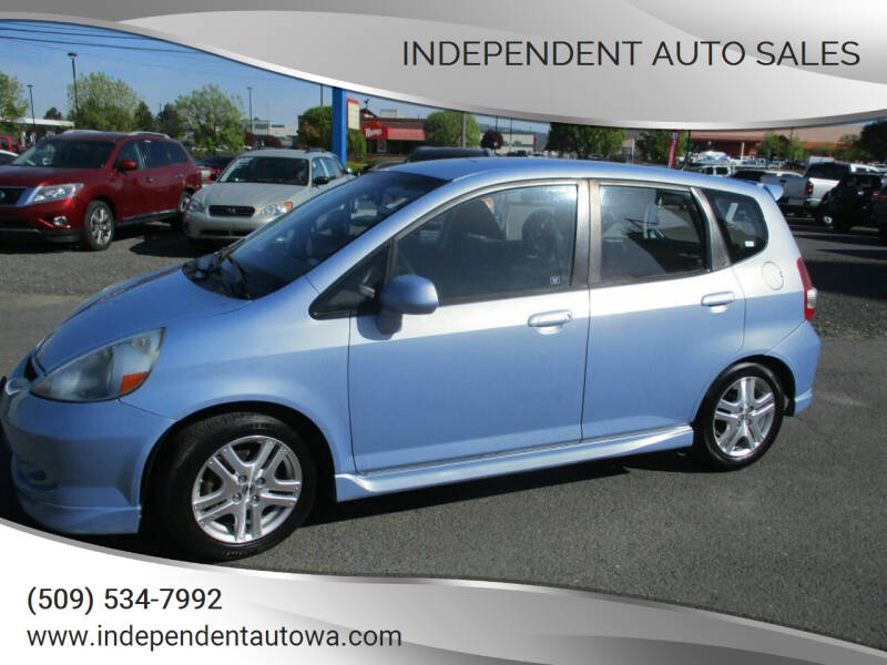2008 Honda Fit for sale at Independent Auto Sales in Spokane Valley WA