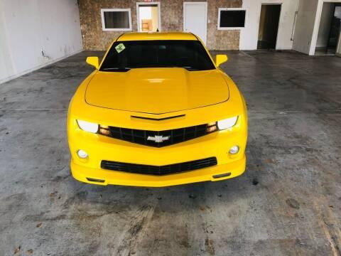 2013 Chevrolet Camaro for sale at Auto Credit & Finance Corp. in Miami FL
