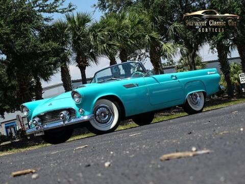 1955 Ford Thunderbird for sale at SURVIVOR CLASSIC CAR SERVICES in Palmetto FL