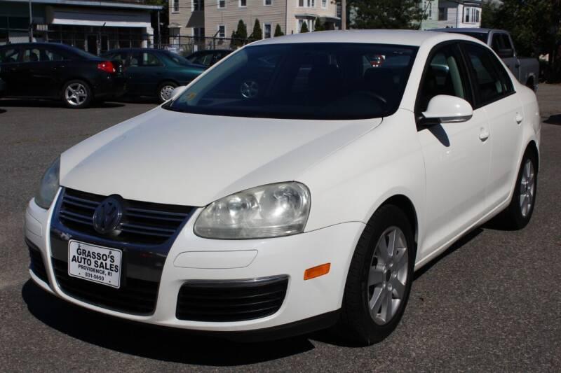 2008 Volkswagen Jetta for sale at Grasso's Auto Sales in Providence RI
