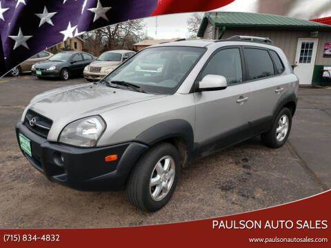 2005 Hyundai Tucson for sale at Paulson Auto Sales in Chippewa Falls WI