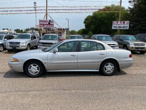 2001 Buick LeSabre for sale at Affordable 4 All Auto Sales in Elk River MN