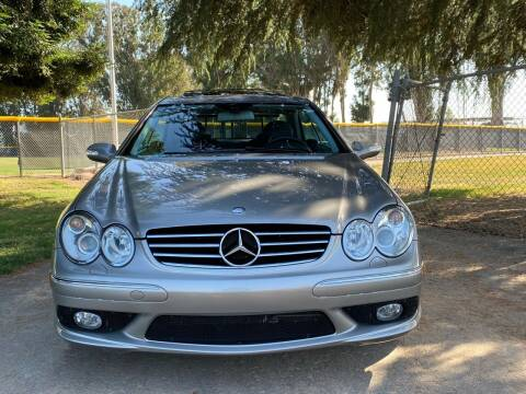 2004 Mercedes-Benz CLK for sale at CARFORNIA SOLUTIONS in Hayward CA