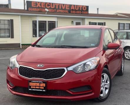 2016 Kia Forte for sale at Executive Auto in Winchester VA
