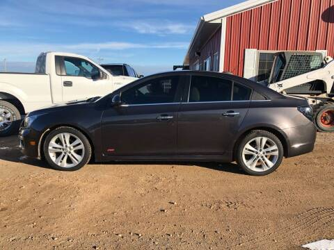 2015 Chevrolet Cruze for sale at TnT Auto Plex in Platte SD