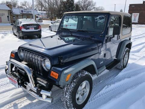 2000 Jeep Wrangler for sale at Spady Used Cars in Holdrege NE