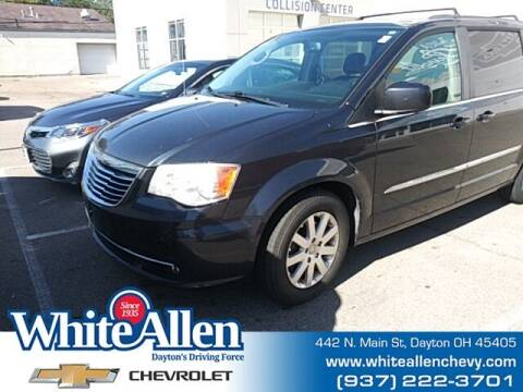 2014 Chrysler Town and Country for sale at WHITE-ALLEN CHEVROLET in Dayton OH
