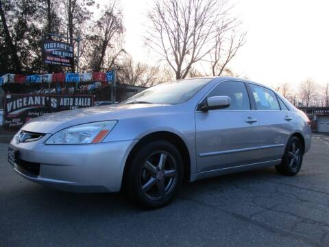 2004 Honda Accord for sale at Vigeants Auto Sales Inc in Lowell MA