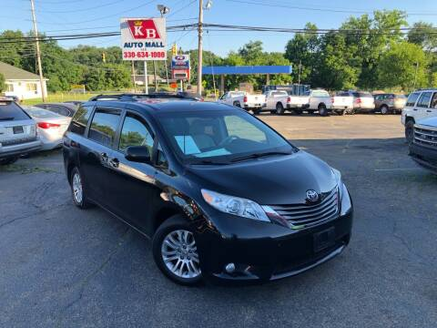 2012 Toyota Sienna for sale at KB Auto Mall LLC in Akron OH