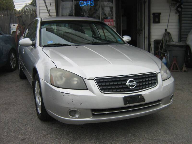 2005 Nissan Altima for sale at JERRY'S AUTO SALES in Staten Island NY