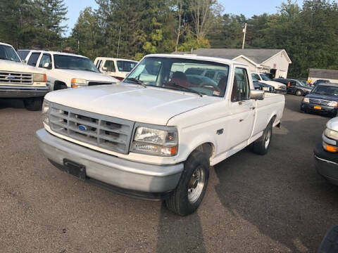 1996 Ford F-150 for sale at CENTRAL AUTO SALES LLC in Norwich NY