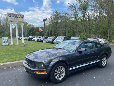 2008 Ford Mustang for sale at Lafayette Motors 2 in Andover NJ