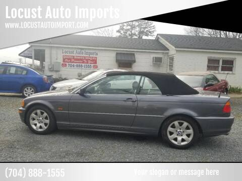 2001 BMW 3 Series for sale at Locust Auto Imports in Locust NC