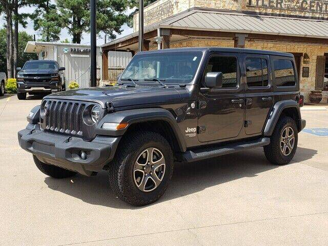 2020 Jeep Wrangler Unlimited for sale at Tyler Car  & Truck Center in Tyler TX