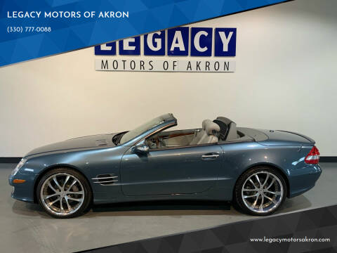 2007 Mercedes-Benz SL-Class for sale at LEGACY MOTORS OF AKRON in Akron OH