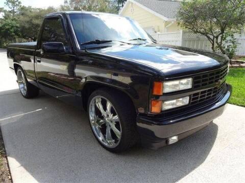 1992 Chevrolet Silverado 1500 for sale at Classic Car Deals in Cadillac MI
