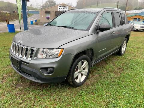 2013 Jeep Compass for sale at ABINGDON AUTOMART LLC in Abingdon VA