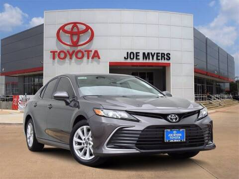 2021 Toyota Camry for sale at Joe Myers Toyota PreOwned in Houston TX