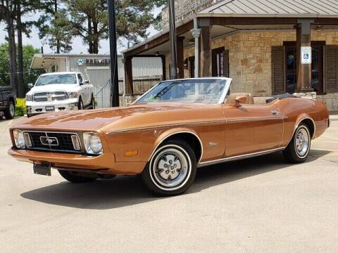 1973 Ford Mustang for sale at Tyler Car  & Truck Center in Tyler TX