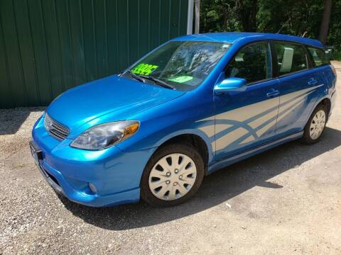 2008 Toyota Matrix for sale at Northwoods Auto & Truck Sales in Machesney Park IL