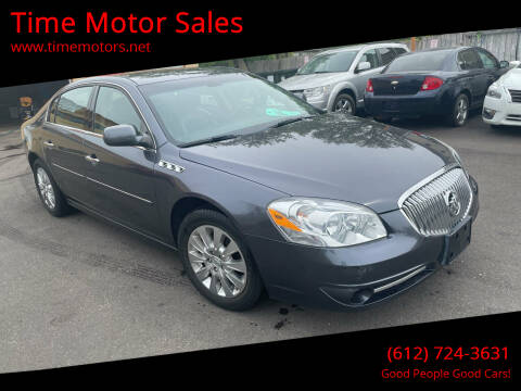 2010 Buick Lucerne for sale at Time Motor Sales in Minneapolis MN