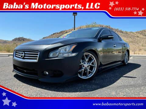 2011 Nissan Maxima for sale at Baba's Motorsports, LLC in Phoenix AZ