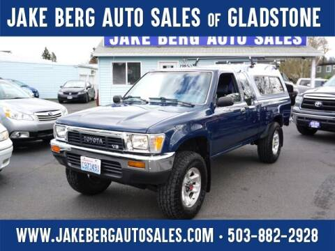 1990 Toyota Pickup for sale at Jake Berg Auto Sales in Gladstone OR