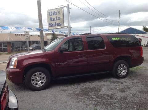 2008 GMC Yukon XL for sale at GIB'S AUTO SALES in Tahlequah OK