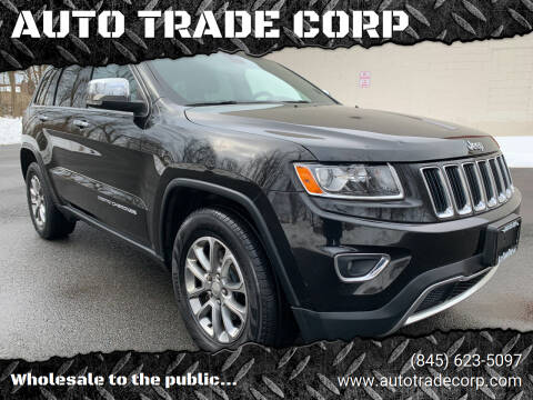 2014 Jeep Grand Cherokee for sale at AUTO TRADE CORP in Nanuet NY