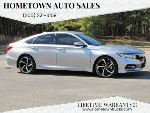 2019 Honda Accord for sale at Hometown Auto Sales - Cars in Jasper AL