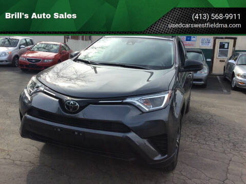 2017 Toyota RAV4 for sale at Brill's Auto Sales in Westfield MA