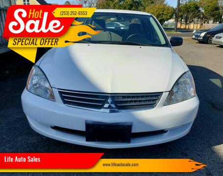 2007 Mitsubishi Lancer for sale at Life Auto Sales in Tacoma WA