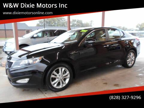 2012 Kia Optima for sale at W&W Dixie Motors Inc in Hickory NC