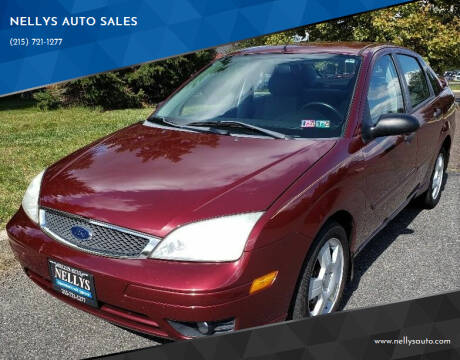 2006 Ford Focus for sale at NELLYS AUTO SALES in Souderton PA