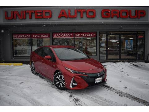 2017 Toyota Prius Prime for sale at United Auto Group in Putnam CT