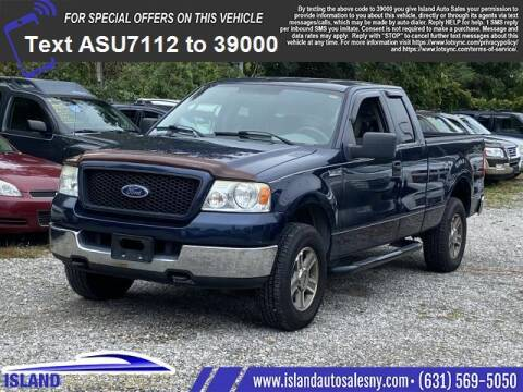 2005 Ford F-150 for sale at Island Auto Sales in East Patchogue NY