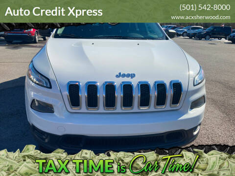 2015 Jeep Cherokee for sale at Auto Credit Xpress in North Little Rock AR