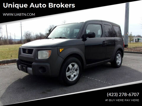 2003 Honda Element for sale at Unique Auto Brokers in Kingsport TN