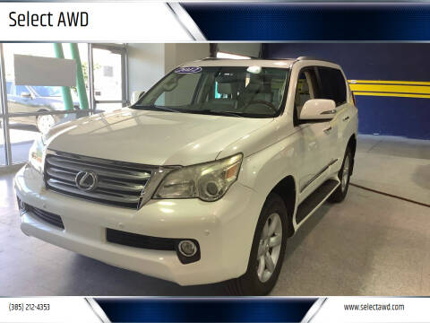 2012 Lexus GX 460 for sale at Select AWD in Provo UT