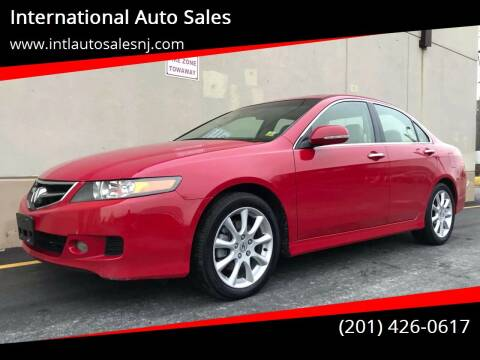 2006 Acura TSX for sale at International Auto Sales in Hasbrouck Heights NJ