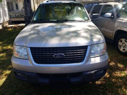 2004 Ford Expedition for sale at Webb's Automotive Inc 11 in Morehead City NC