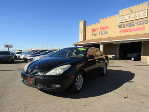 2004 Lexus ES 330 for sale at Import Motors in Bethany OK
