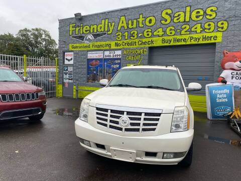 2008 Cadillac Escalade for sale at Friendly Auto Sales in Detroit MI