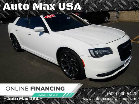 2015 Chrysler 300 for sale at Auto Max USA in Yakima WA