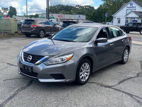 2016 Nissan Altima for sale at Ludlow Auto Sales in Ludlow MA