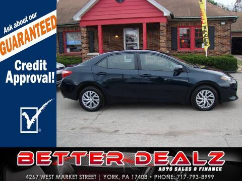2019 Toyota Corolla for sale at Better Dealz Auto Sales & Finance in York PA